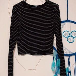 Zara Striped Long Sleeved Tee